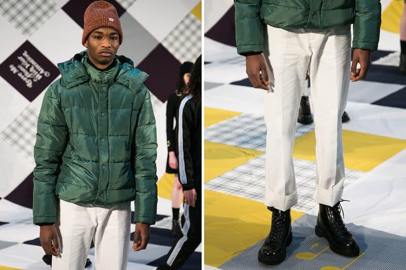 Wood Wood 2018 Fall/Winter Backstage Imagery London Fashion Week: Men's