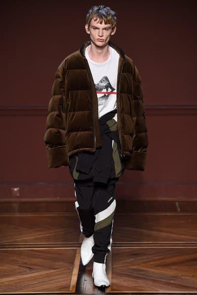 Wooyoungmi Fall/Winter 2018 Collection Paris Fashion Week Men's