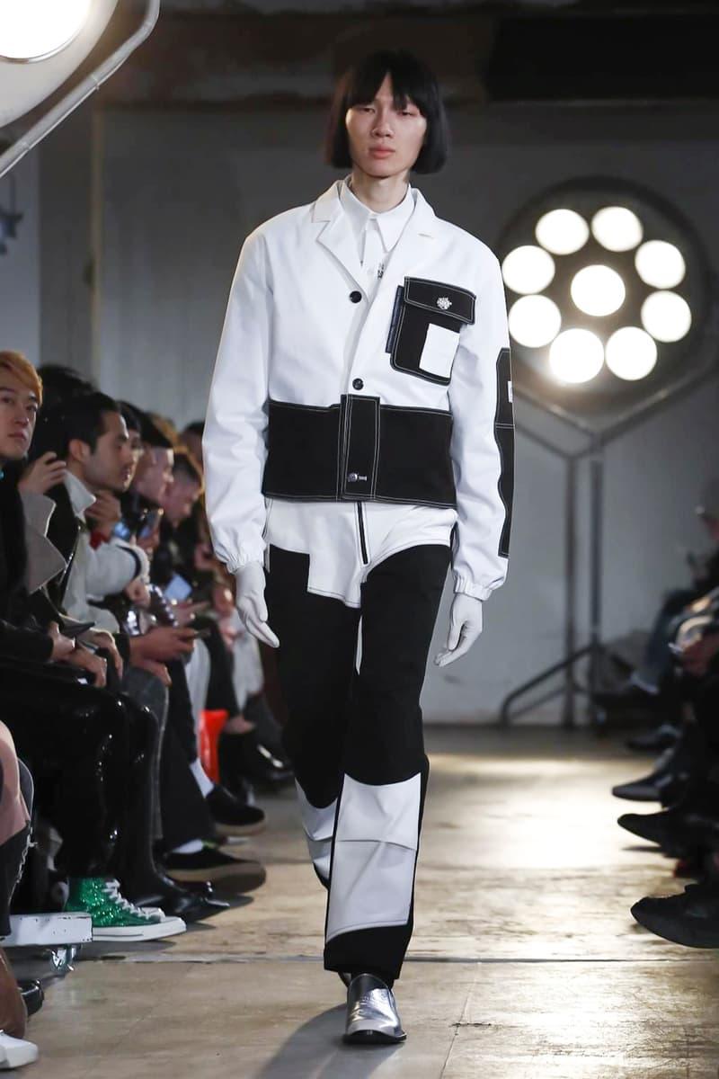 Xander Zhou 2018 Fall Winter Collection london fashion week london fashion week mens lfwm