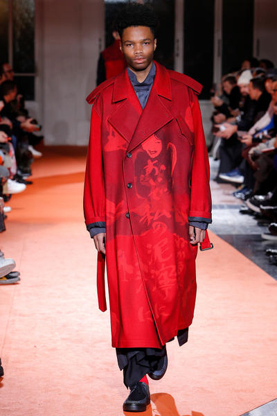 Yohji Yamamoto 2018 Fall Winter Paris Fashion Week Mens