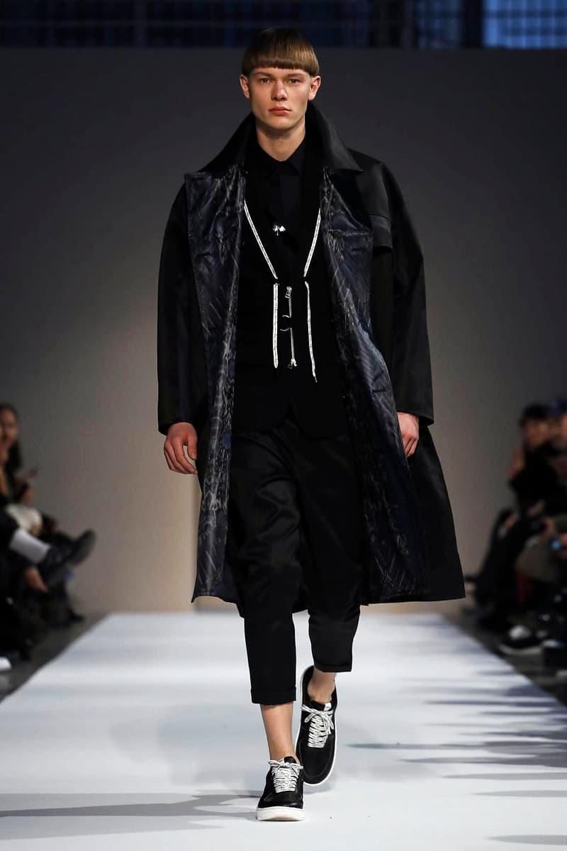 Yoshio Kubo 2018 Fall/Winter Collection milan fashion week men's 2018 fall winter