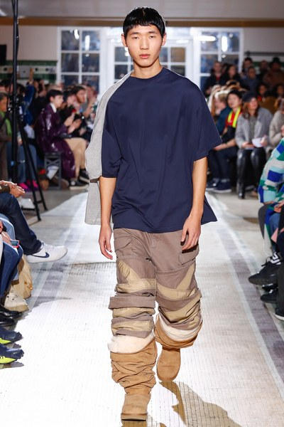 Y/Project Fall/Winter 2018 Paris Fashion Week Men's Ugg Boots