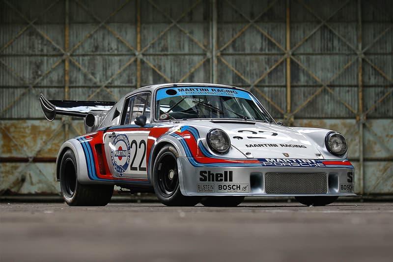 1974 Porsche 911 Carrera RSR 2 1 Turbo Auction martini livery le mans 2 million usd Amelia Island auction