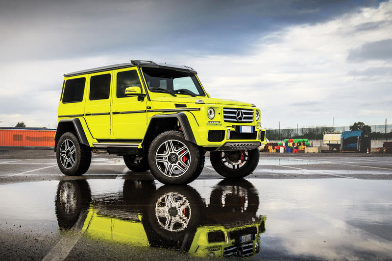 RM Sotheby's Mercedes-Benz G500 4×4² Automobile Vehicle