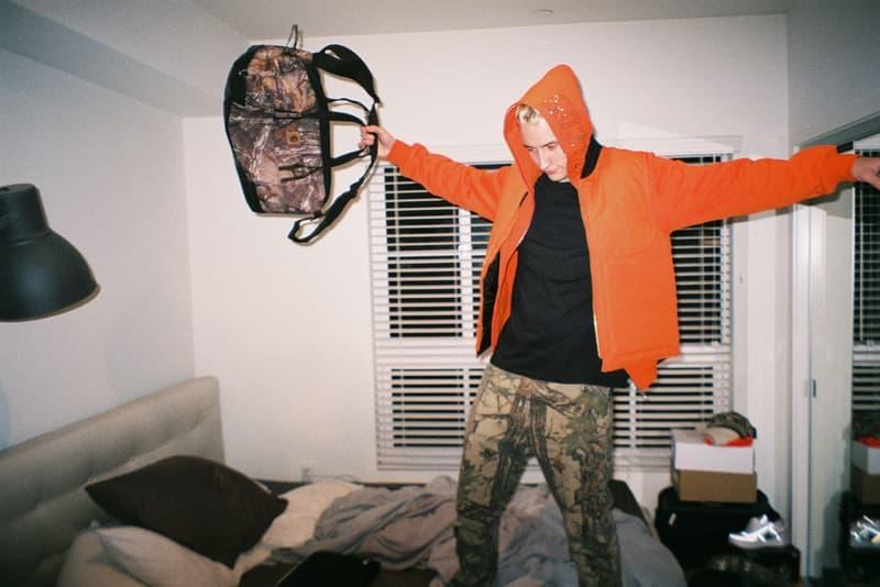 Gab3 90210 First 2018 Lookbook Collection Hoodies Bag White Trash Tyler uzi