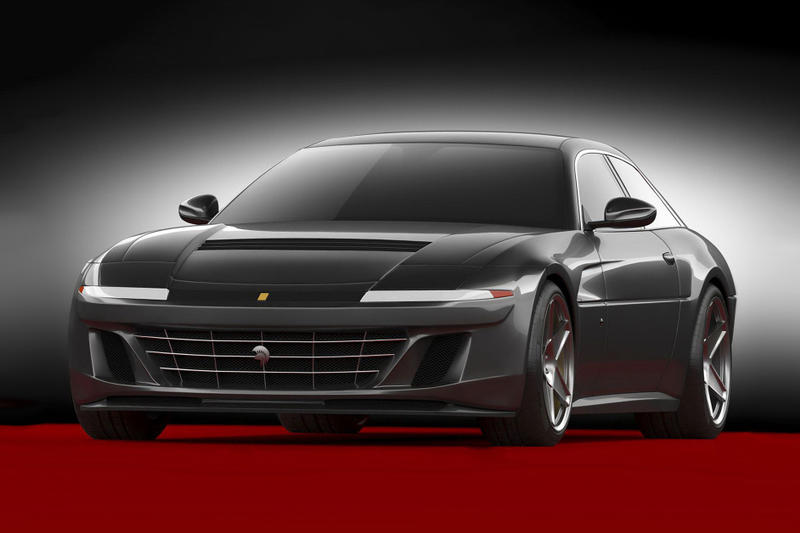 ARES Design Recreates Ferrari 412 GTC4Lusso