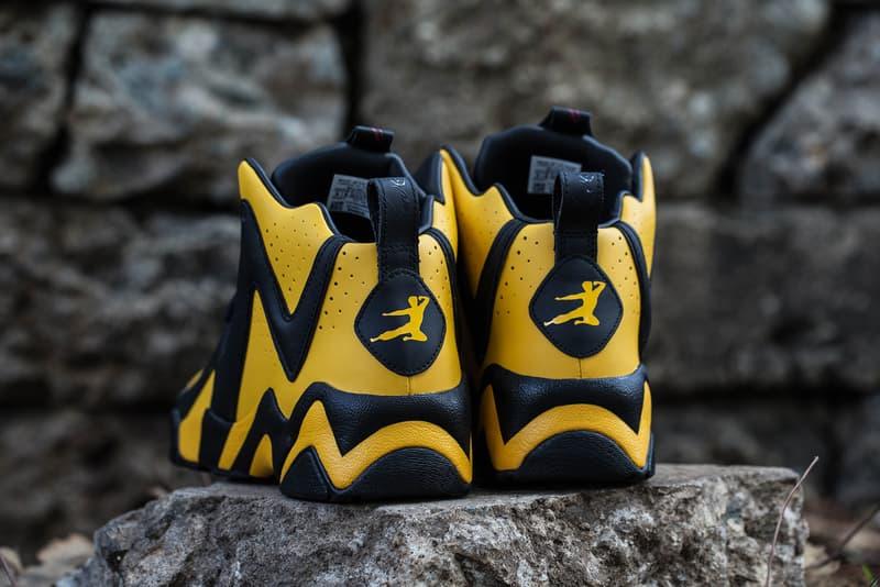 BAIT Reebok Bruce Lee Kamikaze II Yellow Black Sneaker Mens Shoes Kicks collaboration 2018 february release date info