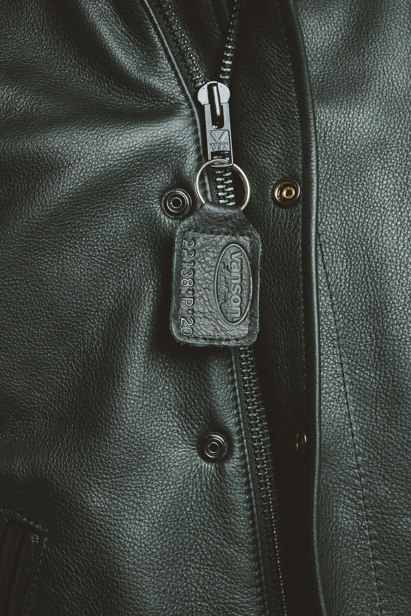 Sneakersnstuff Vanson Leather Collaboration Street Streetwear Sweden Mens Fashion Menswear NYC Varsity Jackets Limited Edition Letterman Letter Patchwork Coats Jackets Winter 2018