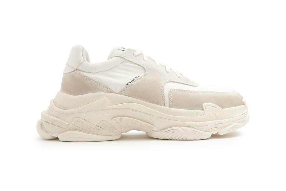 New Balenciaga Triple S Matchesfashion.com Chunky Sneaker