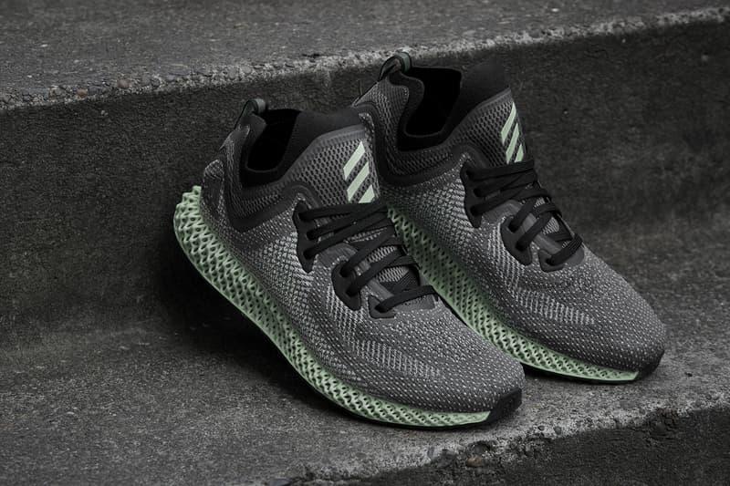 adidas AlphaEDGE 4D LTD official unveil announcement 2018 february 17 release date info sneakers shoes footwear