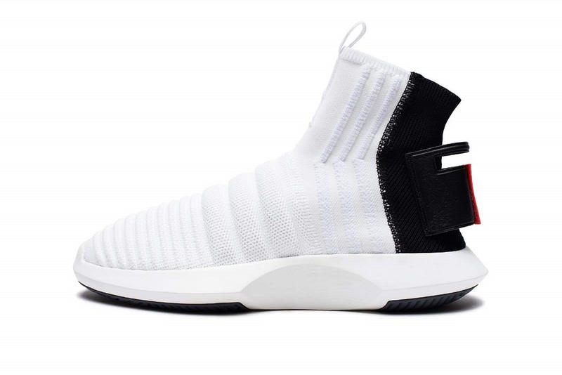 pretty nice 5f774 cb520 adidas Crazy 1 ADV Sock Primeknit White Black Red