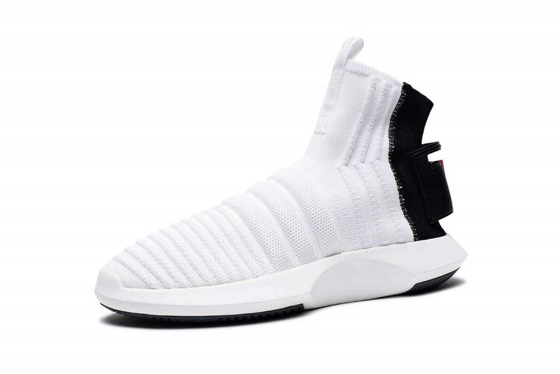 adidas Crazy 1 ADV Sock Primeknit White Black Red