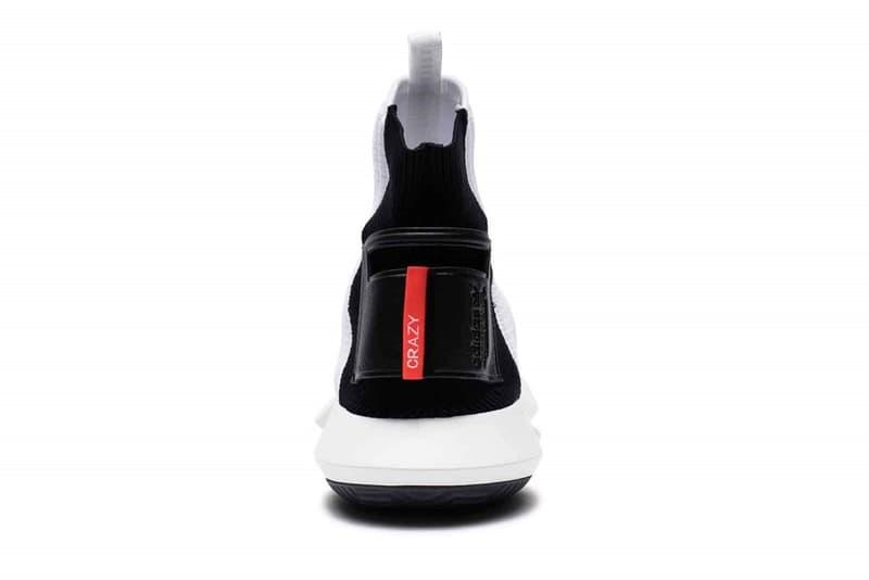 adidas Crazy 1 ADV Sock Primeknit White Black Red