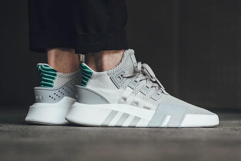 "premium selection e4462 24b47 adidas EQT Basketball ADV ""Grey/Sub Green"" 