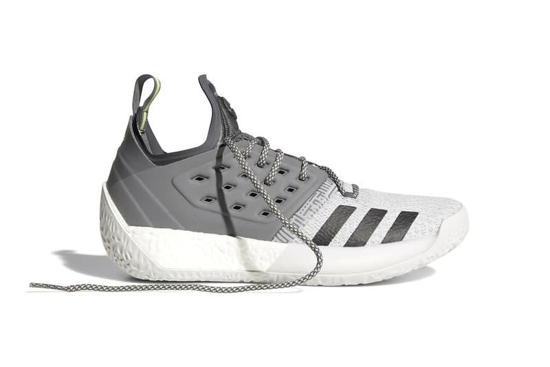 adidas Harden Vol 2 Traffic Jam Concrete James Harden footwear release dates march 1 10 2018