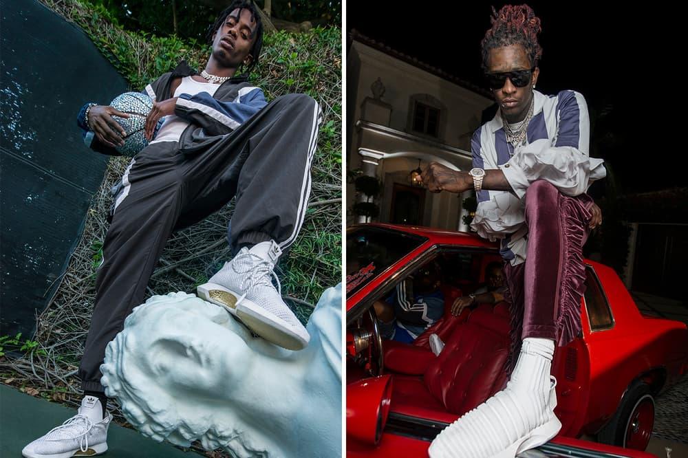 adidas Originals Young Thug Playboi Carti 21 Savage Crazy 1 ADV Crazy 8 ADV Crazy 1 ADV Sock