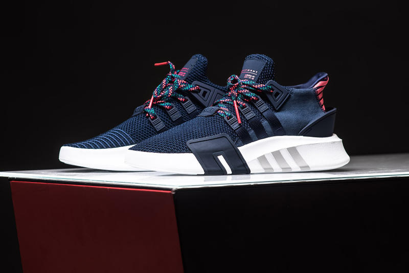 new concept ee657 72ab3 adidas Originals EQT BBall ADV Navy Real Coral 2018 february 1 release date  info sneakers shoes