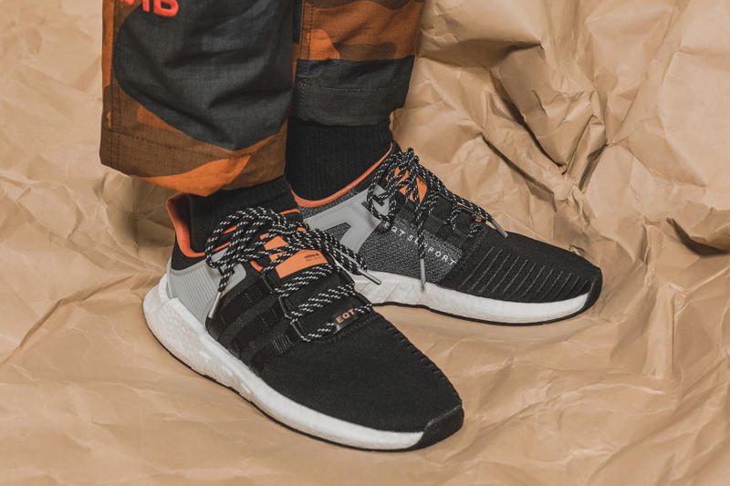 adidas Originals EQT Support 93/17 Vibrant Orange Release date hbx purchase now