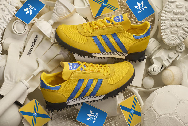 size adidas Originals Marathon TR Malmo city series collaboration exclusive 2018 march 2 release date info sneakers shoes footwear