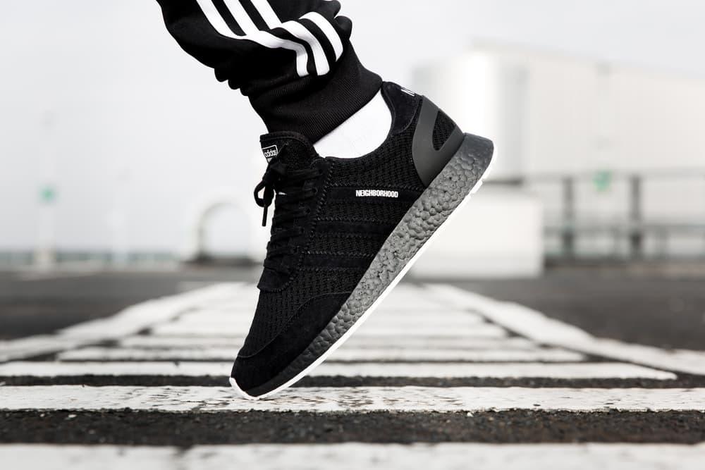adidas Originals NEIGHBORHOOD Collaboration NMD Primeknit Chop Shop Shinsuke Takiawa Black White Kicks Sneaker Shoes Spring Fashion Japan Streetwear