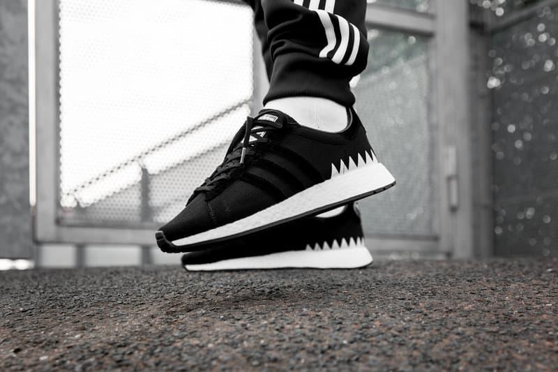 9a8b04aef Overkill. adidas Originals NEIGHBORHOOD Collaboration NMD Primeknit Chop  Shop Shinsuke Takiawa Black White Kicks Sneaker Shoes Spring