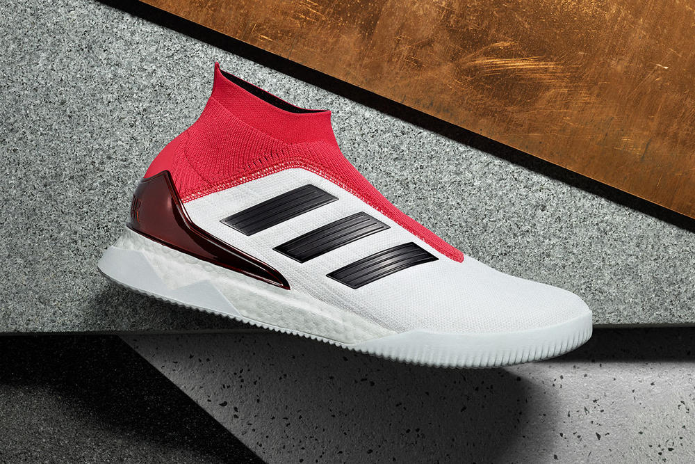 adidas Predator Tango 18 TR White Red Black 2018 february 7 release date info sneakers shoes footwear soccer football end clothing