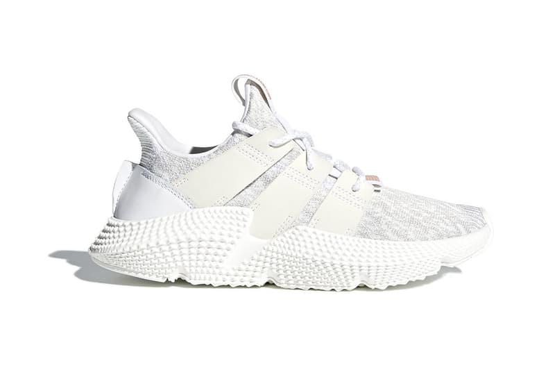 meet 254cc 09bdd adidas Prophere Triple White footwear release date info drops february 23  2018