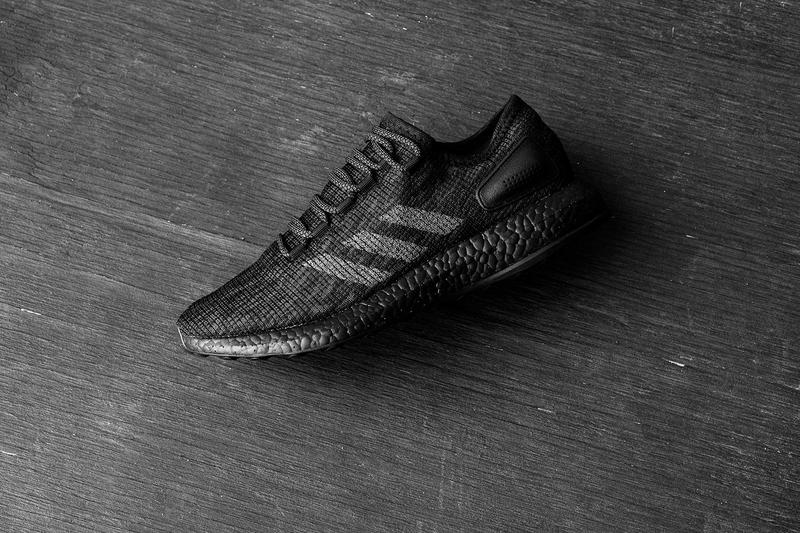 adidas PureBOOST Triple Black Release Information