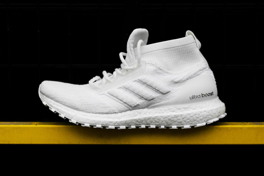 adidas UltraBOOST Mid ATR Triple White 2018 february 2 release date info sneakers shoes footwear rock city kicks