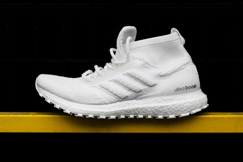 adidas UltraBOOST Mid ATR Triple White 2018 february 2 release date info sneakers shoes footwear rock city kicks