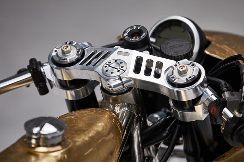 Aellambler Custom Ducati Scrambler Motorcycle japan gold