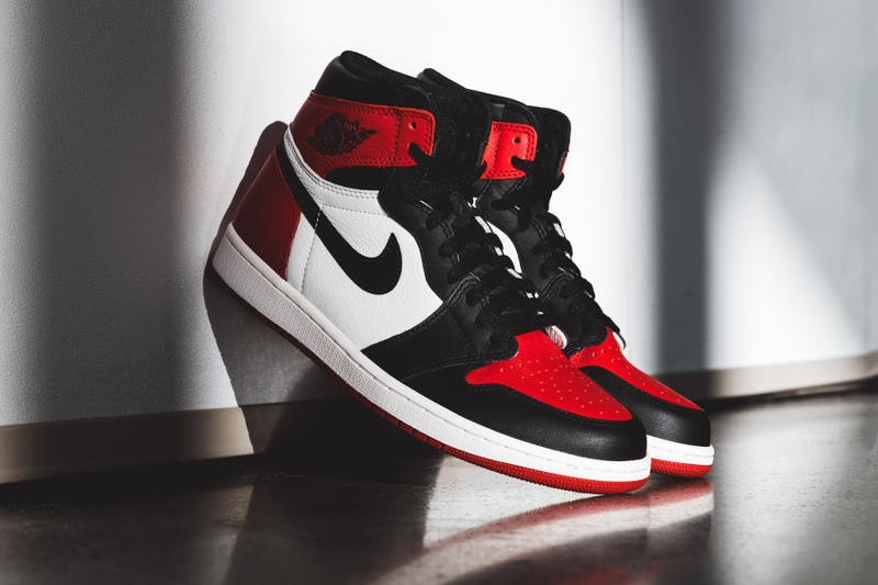 c6a1637a0ce1 Air Jordan 1 Bred Toe General Release Foot Locker