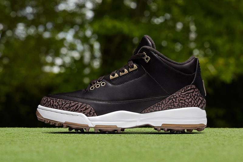 Air Jordan 3 Golf white cement bronze brown premium footwear release date details info drops february 16 2018