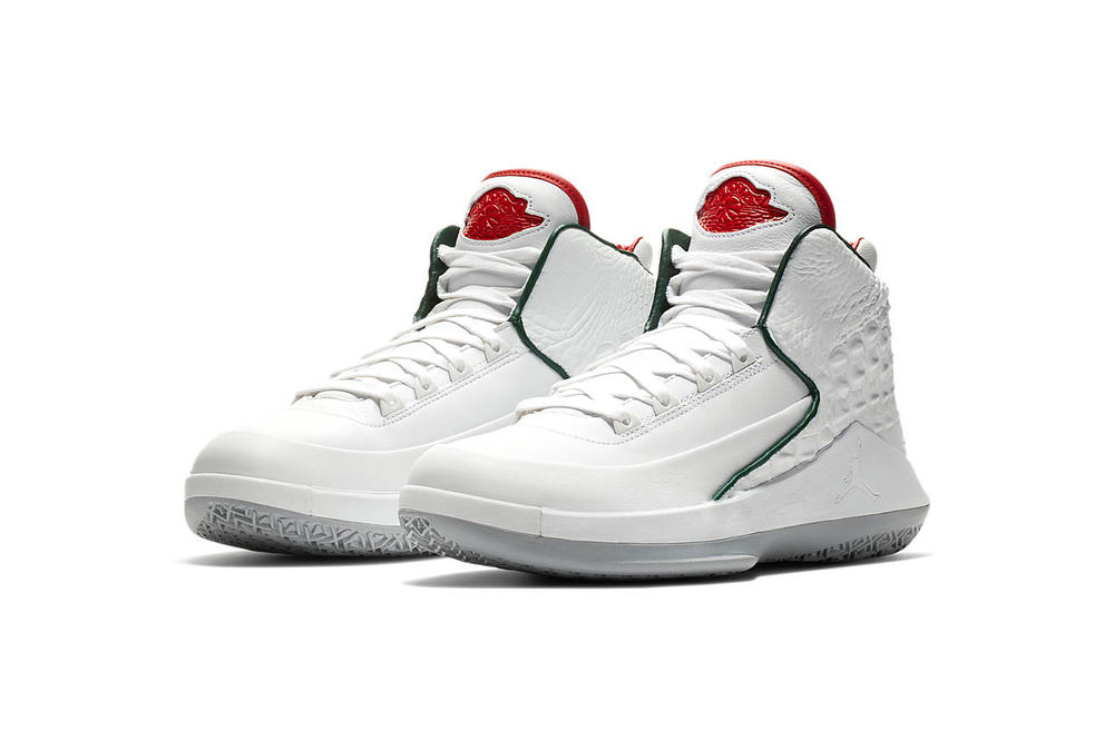 Air Jordan 32 NRG white university red Michael Jordan footwear release date february 2018