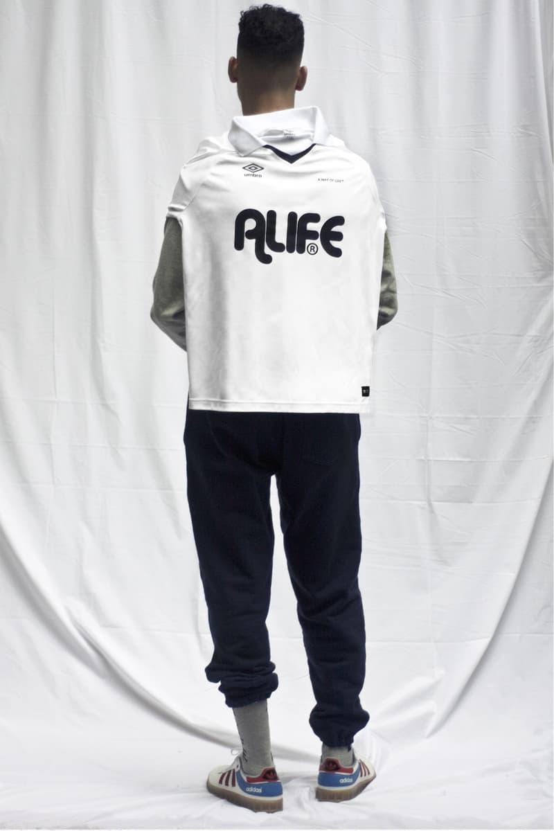 Alife Umbro Long Sleeve Soccer Jersey 2018 february release date info white black