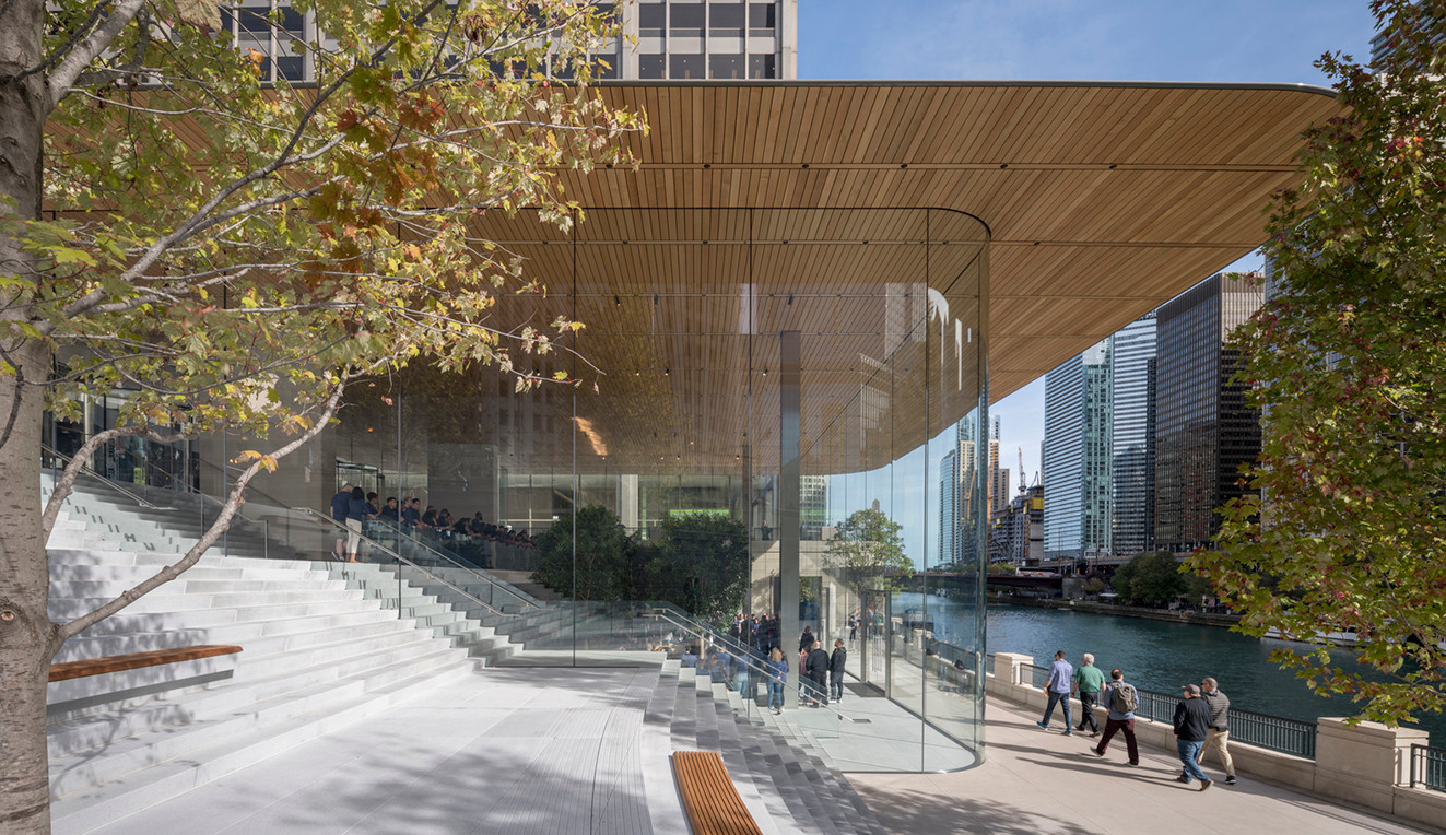 ArchDaily 2018 Building of the Year Awards crowdsourced vote 100000 Winners Apple Nike