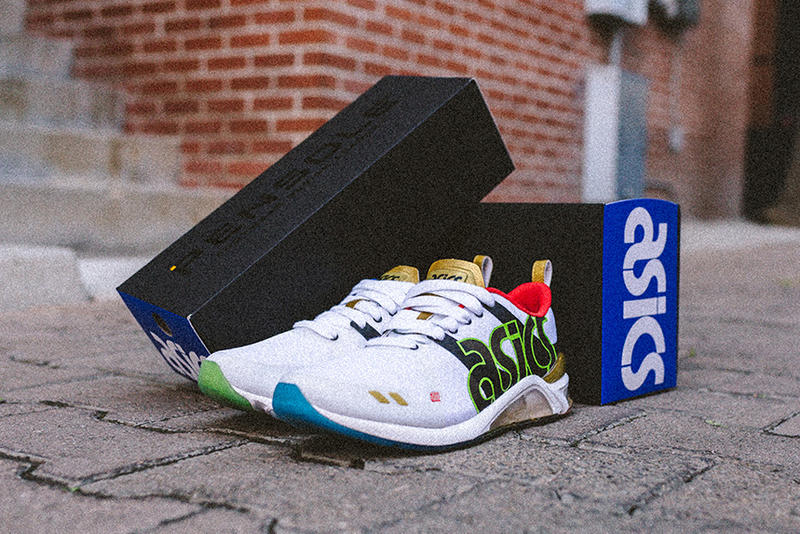 pretty nice c20b9 35acf Foot Locker x PENSOLE x ASICS GEL-180