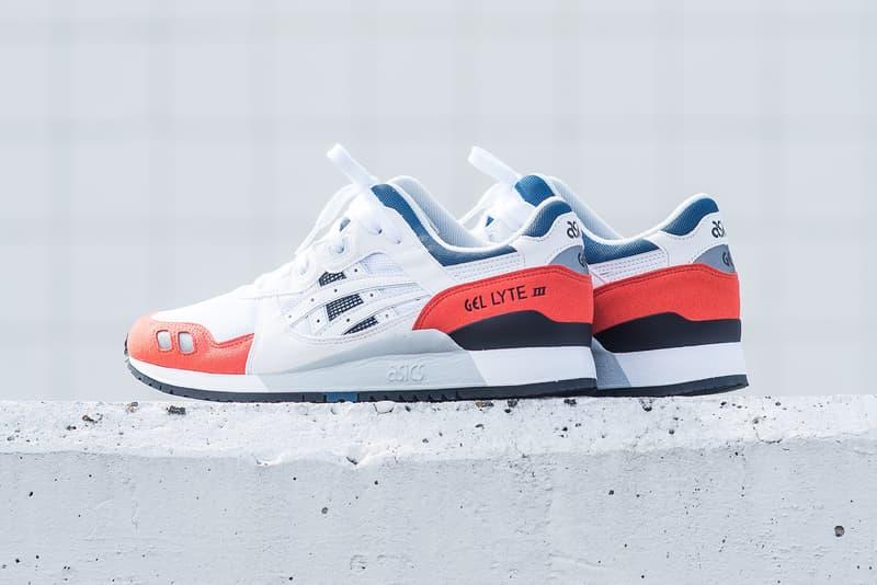 f76aec177785 ASICS GEL Lyte III white orange blue black 2018 february release date info  politics sneakers shoes