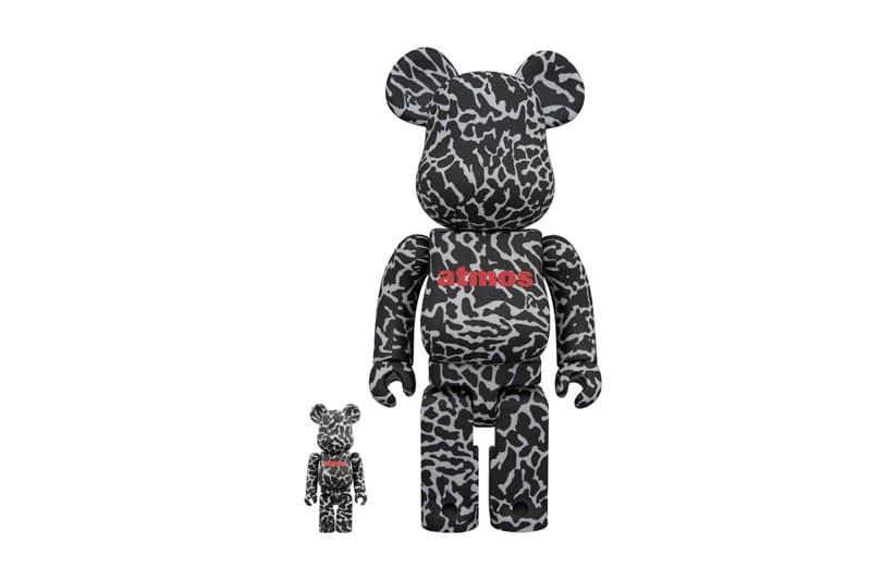 atmos Medicom Toy Reverse Elephant BEARBRICKs 2018 february 17 release date info 100 400 percent