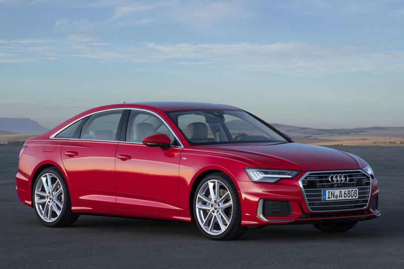 Audi A6 Sedan 2019 A7 A8 Automotive New 12.1-inch Virtual Cockpit 10.1-inch MMI Nogaro Blu Corbellati