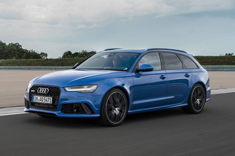 Audi RS6 Avant Performance Nogaro Edition blue limited 150 2018
