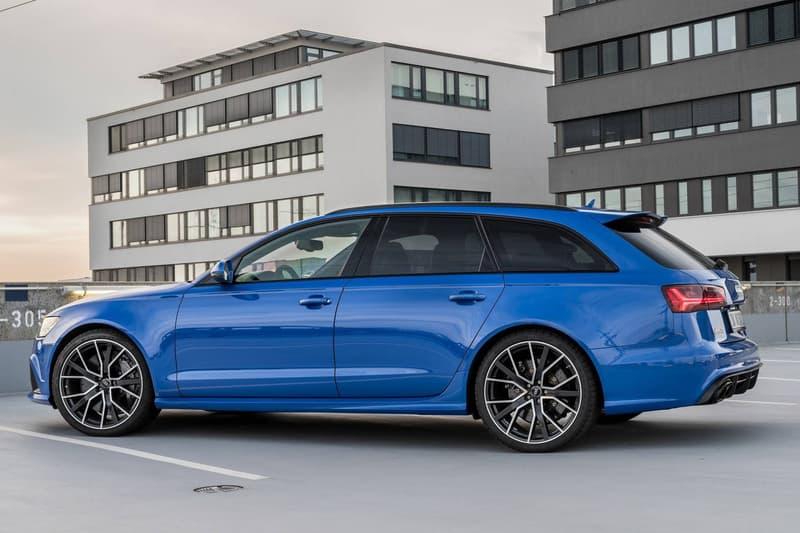 Audi RS Avant Performance Nogaro Blue Edition HYPEBEAST - Audi rs6 2018