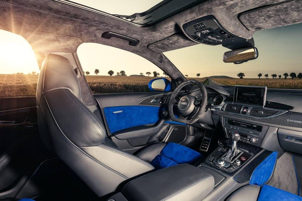 Audi RS6 Avant Performance Nogaro Edition blue limited 150 2018