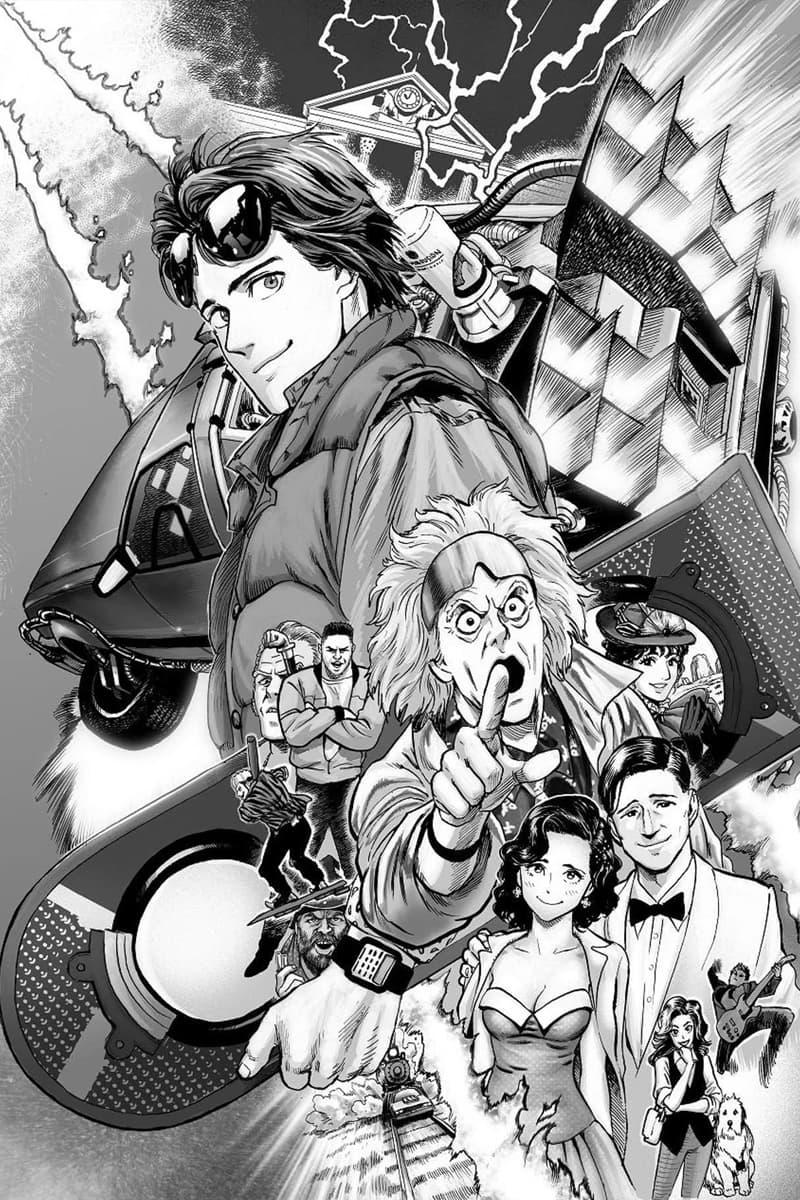 Back to the Future Manga One-Punch Man Yusuke Murata Illustrator
