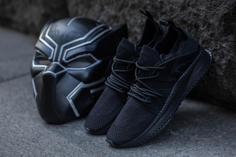 BAIT PUMA Black Panther Pack Tsugi BOG Blaze of Glory Mostro Mid 2018 february release date info sneakers shoes footwear