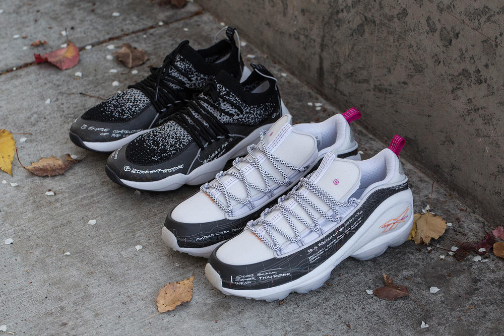 BAIT Reebok DMX 10 Fusion Ideation Department pack 2018 february release date info sneakers shoes footwear