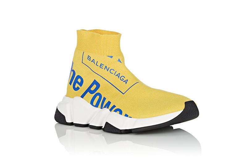 Balenciaga The Power of Dreams Speed Sneakers Luxury Fashion Womens Shoes Travel Kicks Street Chic NYFW Demna Gvasalia Vetements