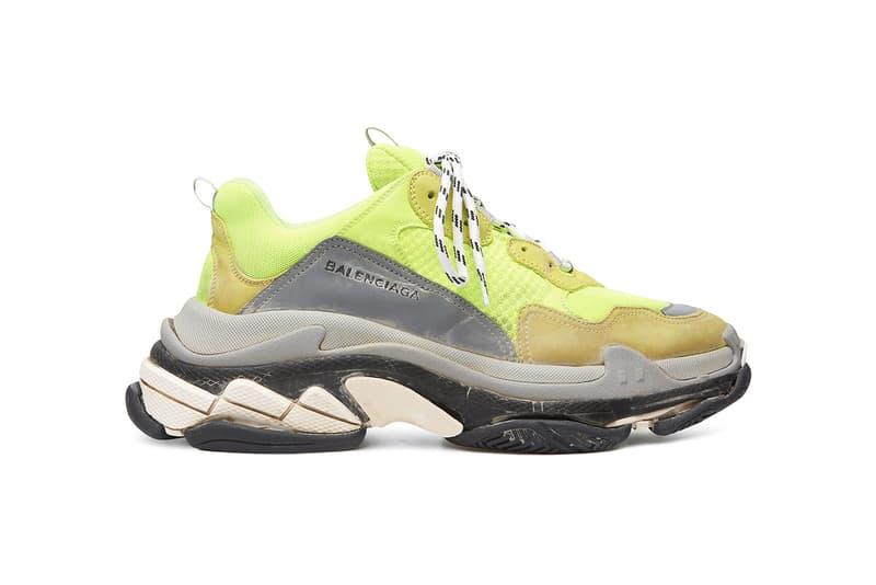 59cc75d2a3d9 Balenciaga Triple S Sneaker New Colorways spring 2018 release date info  sneakers shoes footwear