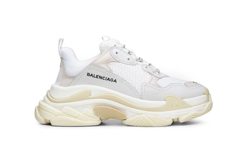 Balenciaga Triple S Sneaker New Colorways spring 2018 release date info sneakers shoes footwear