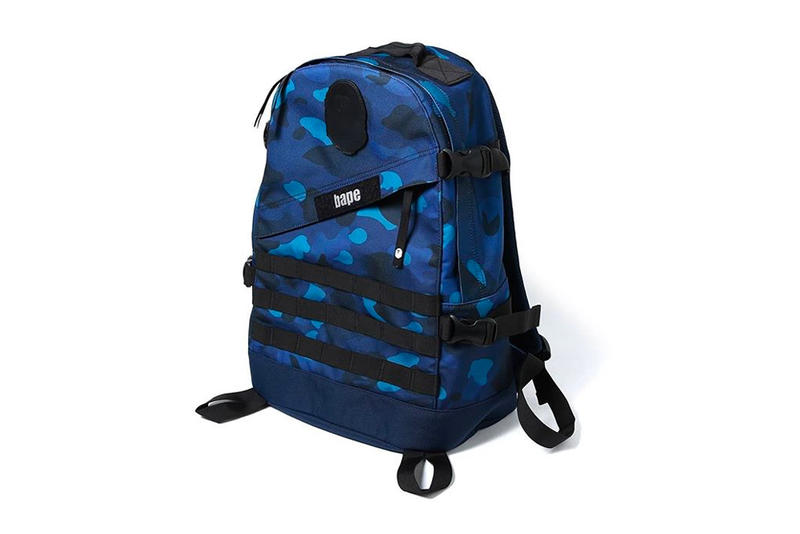 BAPE A Bathing Ape Gradation Camo Collection Crewnecks Long Sleeve Shirts Caps Backpacks